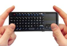 FAVI HTPC Keyboard and mouspad. With a freakin' Laser people! $19.95 #keyboard #htpc