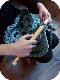 Giant crochet
