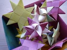 Paper stars!