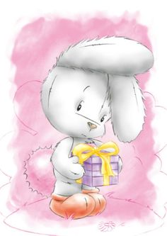 Leading Illustration & Publishing Agency based in London, New York & Marbella. Bunny Images, Blue Nose Friends, Baby Posters, Finding Neverland, Tatty Teddy, Cute Bunny, Cute Illustration, Cute Drawings, Paintings