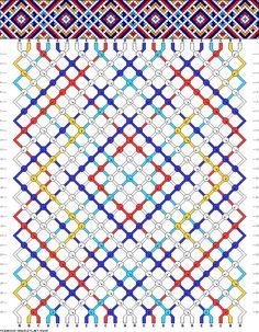 24 strings, 28 rows, 5 colors