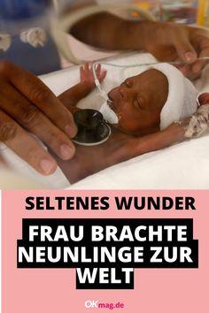 Als Halima Cissé schwanger wurde, konnte sie es kaum glauben: Sieben Kinder sollte sie laut Angaben ihres Arztes zur Welt bringen. Doch dann wurden es sogar noch mehr ... #neunlinge #mehrlinge #wunder #schwangerschaft Real Life, Personal Care, Twins, Pregnancy, World, Woman, Kids, Self Care, Personal Hygiene