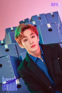 "Update: NCT 127 Drops Individual Teasers For Title Track ""Touch"" Mark Lee, Winwin, Taeyong, Disney Channel, K Pop, Jaehyun, Nct Dream, Shinee, Nct 127 Mark"
