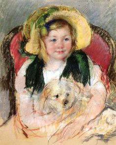 It's About Time: Dog Days of Summer - Mary Cassatt 1844-1926