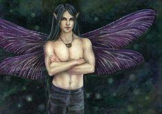 Yokai, a race of human sized fairy-like creatures who rule over a vast, island Empire west of Exodola. It's AKA the Ashinian Empire.