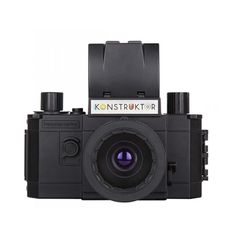 The Lomography Konstruktor Flash DIY SLR camera is now equipped with a PC socket for flash photography (no flashgun is included). Have you ever wanted to learn Toy Camera, 35mm Camera, Distance Focale, Appareil Photo Reflex, Last Minute Christmas Gifts, Flash Photography, 35mm Film, Focal Length, Camera Accessories