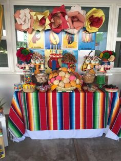 Quinceanera Party Planning – 5 Secrets For Having The Best Mexican Birthday Party Mexican Birthday Parties, Mexican Fiesta Party, Fiesta Theme Party, Festa Party, Birthday Party Themes, Mexican Candy Table, Mexican Desserts, 15th Birthday, Birthday Ideas