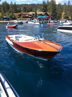Riva Olympic spotted on Tahoe.