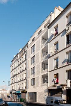 7 logements sociaux - atelierpng architecture