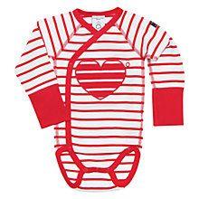 Polarn O. Pyret Baby Stripe Bodysuit