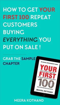 Wondering why everyone's digital product seems to sell like hotcakes and yours doesn't? In this post I'll walk you through 13 simple things you can do to sell out your digital products every single time. You can also grab a free chapter of my Amazon bestseller Your First 100 which shows you how to get your first 100 repeat customers!