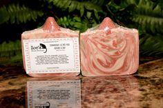 Strawberry Milk/Handmade Cold Process Artisan Soap/Goats Milk Soap/Swirled Soap/Red/Green/White/Strawberry Embed by ZoesBeautyBoutique on Etsy https://www.etsy.com/listing/216393457/strawberry-milkhandmade-cold-process