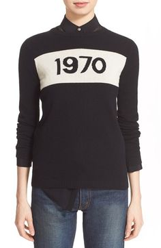 Bella Freud '1970' Wool Sweater available at #Nordstrom