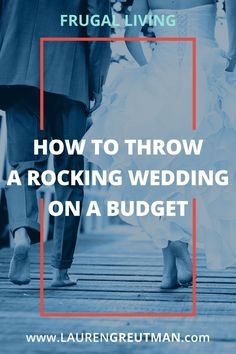 The average cost of a wedding is $30,000! But you can throw an awesome wedding on a budget that will be just as memorable for a fraction of the cost! via @iatllauren