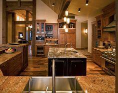 Catamount Ranch - traditional - kitchen - denver - Amaron Folkestad GC Steamboats Builder
