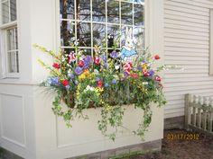 my Easter window box