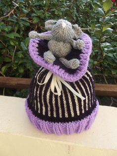 Beanie Hat   There's a Mouse in the House by Quintessentialcraftz, €15.00
