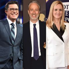 'Daily Show' reunion coming to 'The Late Show with Stephen Colbert' | The May 9 episode of The Late Show will bring together Colbert and former Daily Show anchor Jon Stewart (an occasional guest who is also an executive producer on The Late Show) with former correspondents Samantha Bee, John Oliver, Ed Helms, and Rob Corddry. The booking is tied to the 20th anniversary of Colbert joining Comedy Central's The Daily Show | Entertainment Weekly • May 3, 2017