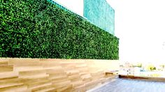Artificial leaf panels. A great decoration for a deck area. It's great decoration for indoor and outdoor.