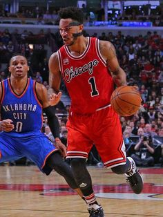 Derrick Rose lifts Bulls over Thunder despite lingering vision issues