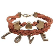 Fashion Lady Retro Love Star Heart Metal Leather Brown Weave Bracelet Strands Bracelet Suede Rope Bracelet Gift Whatland,http://www.amazon.com/dp/B00J3NRBV6/ref=cm_sw_r_pi_dp_wjLEtb0ZSAJKEK8K
