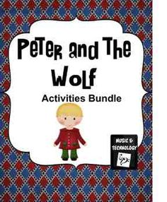 Peter and the Wolf Activities Bundle- 6 Different activities to go along with your Peter and the Wolf Unit.