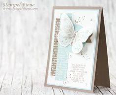 StampinUp Watercolor Wings;  Butterfly Card;  Fortune Card tinker;  Match the Sketch;  StampinUp Catalog 2016-2017;  StampinUp Use