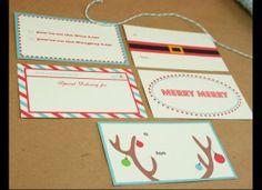 13 Amazing Free Gift Tag Printables (PHOTOS)