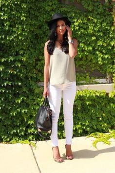 Summer style white j