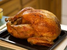 2-Hour Turkey, Really!! Rub with olive oil, salt, Pepper. Do NOT stuff. Cook in Super HOT oven (475 deg. F.).  Cooks in 2 hours or under!