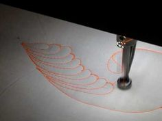 Artist Karen McTavish (quilting Diva!) showcases Victorian Feathers