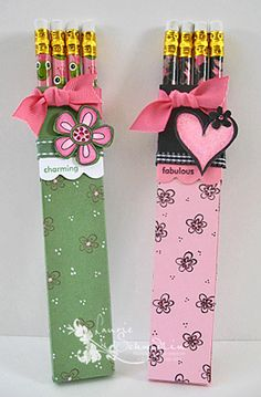 Valentine's Pencil Holders
