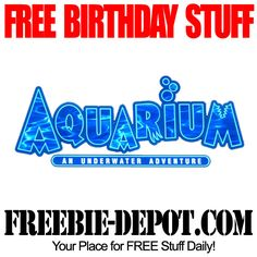 BIRTHDAY FREEBIE – Aquarium Restaurants - FREE $25 BDay Reward