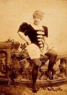 circa 1897.  Nice legs.