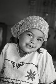 Little Huichol girl from #Mexico