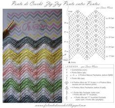 Best 8 Herringbone, Zig Zag Crochet Stitches for Free. Zig Zag Crochet, Crochet Ripple Blanket, Crochet Motifs, Crochet Wool, Crochet Flower Patterns, Crochet Diagram, Crochet Stitches Patterns, Crochet Chart, Crochet Designs