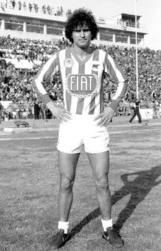 Red Archives blog. Olympiakos Piraeus: Βαμβακούλας Νίκος Fiat, White Shorts, Athlete, Blog, Passion, Football, Gym, History, Sports