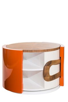 Collection Colorfull, table basse Convoitise - Rouge Absolu