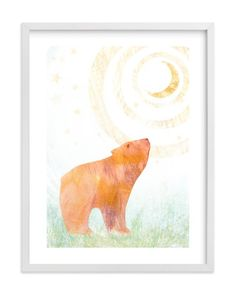 """""""Wonder II"""" - Limited Edition Art Print by Amelie Conger in beautiful frame options and a variety of sizes."""