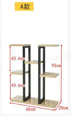 Flower shelf home multi storey indoor space wrought iron flower stand multi layer living room balcony flower pot shelf Folding Furniture, Diy Furniture Couch, Steel Furniture, Home Decor Furniture, Furniture Design, Shelving Design, Bookshelf Design, Wooden Plant Stands Indoor, Intarsia Wood