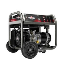 Briggs & Stratton Home Series Gasoline Powered Recoil Start Portable Generator with OHV - The Home Depot Portable Generator, Portable House, Sump Pump, Outdoor Tools, Recreational Activities, Gasoline Engine, Electronic Recycling, Outdoor Power Equipment, Engineering