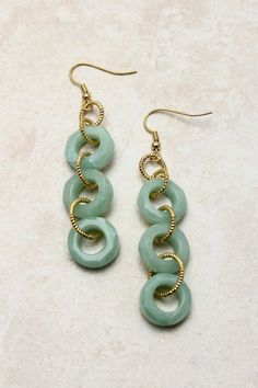 Minty Morgan Earrings | Awesome Selection of Chic Fashion Jewelry | Emma Stine Limited