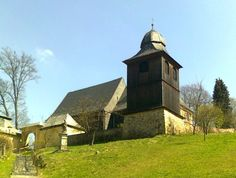 Dřevěný kostel sv. Kryštofa - Kryštofovo údolí - česko