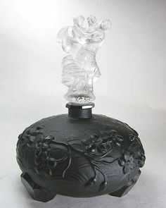 Ingrid Czech Perfume Bottle by Curt Schlevogt C1930s