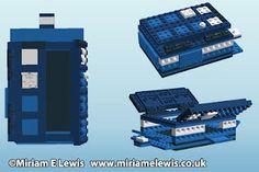 TARDIS Raspberry Pi Lego case
