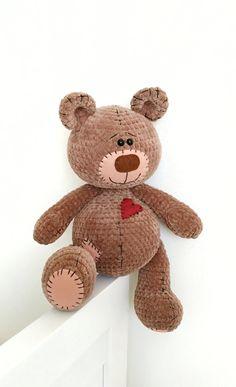 70 Ideas Crochet Toys For Boys Amigurumi Teddy Bears Crochet Teddy, Crochet Bear, Crochet Toys, Teddy Bear Toys, Teddy Bears, Amigurumi Animals, Bear Crafts, Bear Valentines, Velvet Teddy