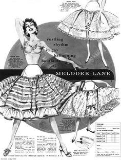 American Duchess: 1950s Petticoats