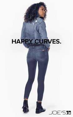New Curvy Denim Styles for Spring from Joes Jeans