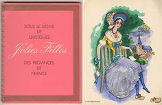 Sous le signe de quelques jolies filles des provinces de France - Catalogus met ringband van het beroemde Franse wijnhuis Nicolas met 15 illustraties naar aquarellen van Kees van Dongen.  Het Franse wijnhuis Nicolas vroeg ieder jaar een bekende kunstenaar om hun verkoopcatalogus te illustreren. In 1954 werd Kees van Dongen hiervoor gevraagd. Kees van Dongen maakte voor hen 15 aquarellen van dames in traditionele klederdrachten en van bekende wijnstreken in Frankrijk. Formaat: 24 x 18,5 cm…