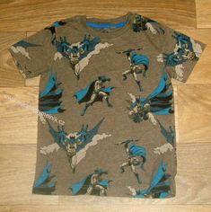 Batman chlapecké bavl. triko vel 18-24m /92 kluk